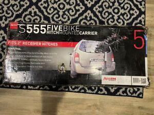 "ALLEN S555 Allen Premier Hitch 5 Bike 2"" Rack"