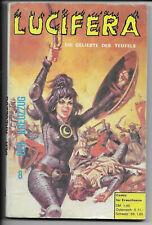 Lucifera N. 8 di 1972-z1-2 fumetti per adulti libro tascabile predone