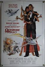 OCTOPUSSY FF ORIG 1SH MOVIE POSTER JAMES BOND 007 ROGER MOORE MAUD ADAMS (1983)