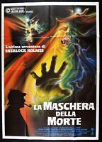 Manifesto El Máscara De Morte Peter Cushing Sherlock Holmes Horror M100