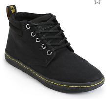 Dr Martens Women's Size 6 EU 37 Belmont Black Canvas Comfort Casual Ankle Boots