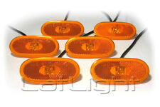 6x LED Side Marker Lights Reflector Mercedes Sprinter VW Crafter Bus Van Cargo