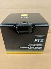 Nikon FTZ Mount Lens Adapter - New in Box- US seller.