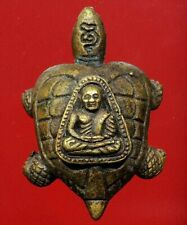 thai buddha amulet OLD turtle Lp NGERN The maestro Fetish Holy POWERFUL