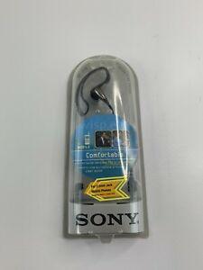 Sony DR-J115 Corded Mobile Ear Clip Headset Stereo Headphones Hands-Free Earset