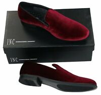 INC International Concepts Trace Series Men's Velvet Slip On Loafers Shoes NIB