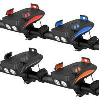 Multifunktions Fahrrad Lautsprecher Bike Scheinwerfer Telefon-Halter hOT Ra A9X7