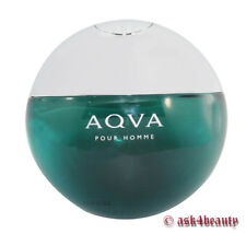 Bvlgari Aqva Pour Homme Tester By Bvlgari 3.4oz/100ml Edt Spray For Men No Box