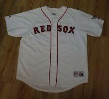 Boston Red Sox Johnny Damon 2004 sewn Majestic World Series jersey men's size-XL