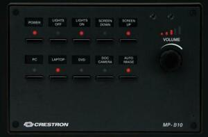 Crestron Tastenfeld MP-B10-B-T NEU mit OVP Neuwertig