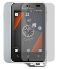 Skinomi Brushed Aluminum Cover+Screen Protector for Sony Ericsson Xperia Active