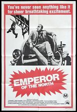 EMPEROR OF THE NORTH Original One sheet Movie Poster Lee Marvin