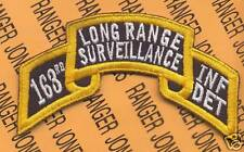 163rd Inf Det LRS Airborne Ranger 1 Cavalry Div patch B