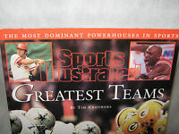 "Sports Illustrated Greatest Teams ""Tim Crothers"" 1998 ""THE MOST DOMINANT TEAMS"""