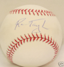 Ron Taylor Autograph / Signed baseball New York Mets