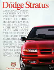 1996 Dodge Stratus sedan new vehicle brochure - SMALL