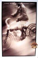 1993 Harley-Davidson Motorcycles Brochure XLH FXR FLHS FLS FLHTC Original Xlnt