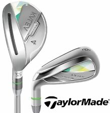 TaylorMade Golf Kalea Womens Combo Iron Set 4H 5H 6-PW+SW Ladies Flex Left Hand