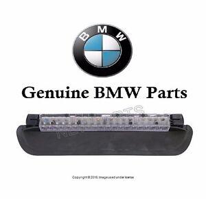 Rear Third Brake Light Black Schwarz Genuine For BMW E46 323Ci 325i 328i 330i M3