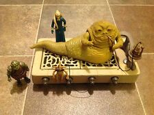 Star Wars Vintage Return of the Jedi Jabba the Hutt Playset 1983 ROTJ w/Figures