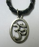 Halskette OM AUM Sanskrit  Necklace Hinduismus x