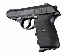 Hogue Grip For Sig Sauer P230 or P232 - Rubber Finger Groove Black 30000