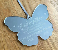 Personalised Godmother Gifts Christening Naming Day Godparents Auntie Gift Box