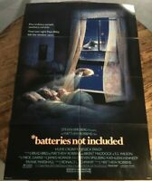 "BATTERIES NOT INCLUDED 1987 original onesheet SCI-FI ALIEN movie poster 27""x41"""