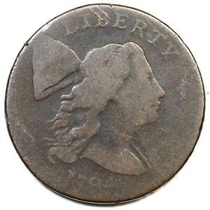 1794 S-23 R-4 Liberty Cap Large Cent Coin 1c
