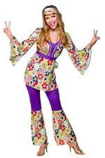 1960s Groovy Hippie Hippy Chick Fancy Dress Costume L.