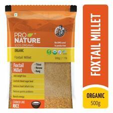 100% Organic Foxtail Millet, 500g