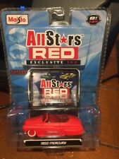 2008 Maisto All Stars Red Exclusive 100 - 1950 Mercury Red