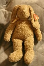 "Large 1991 Ty Classic Curly Bunny 18"" Stuffed Animal Rabbit Plush"