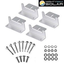 Mighty Max Solar Panel Mounting Z Bracket kit for 150 Watt Solar Panel
