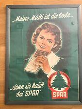 """+ schönes, altes Plakat """"SPAR"""" Reisch"""