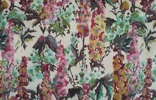 Edinburgh Weavers-CAMDEN Slub Linen Pastel//White Fabric,Curtains//Upholsry