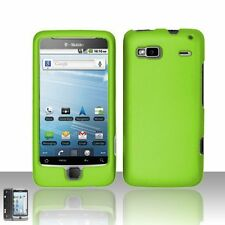 Hard Rubberized Case for HTC T-Mobile G2 - Green