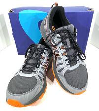 Asics Gel-Venture 7 Men's Size 12(4E) Grey/Habanero Trail Running Shoes X6-100