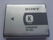 Batterie D'ORIGINE SONY NP-BK1 CM5 MHS-PM1 MHS-PM5 DSC-W180 DSC-W190 DSC-W370
