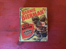 Coach Bernie Bierman's #1480 Brick Barton & the Winning Eleven Big Little Book