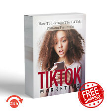 💰TikTok MARKETING EARN TikTok MONEY MASTER RESELL RIGHTS EBOOKS + FREE SHIPPING