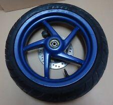 ruota anteriore completa blu APRILIA SR 50 DITECH cerchio copertone MAXIS front