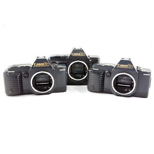 CANON T70 X2 & T80 35MM SLR FILM CAMERA BODIES - FOR SPARES, REPAIR OR DISPLAY