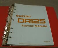 Suzuki Factory Service/Repair Manual Guide OEM 1982 82 DR125 DR 125