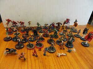Vintage MARVEL : Lot de plus de 50 figurines Wizikids Heroclix