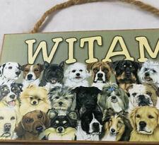 Dog sign dog plaques
