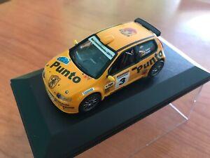 FIAT PUNTO KIT CAR S1600 RALLYE PRINCIPE DE ASTURIAS 2003 1:43 D.VALLEJO-S.VALLE