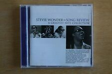 Stevie Wonder  ‎– Song Review / A Greatest Hits Collection     (Box C285)