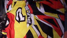 PULSE STORM KIDS  NEON RED & YELLOW MOTOCROSS MX BMX MOUNTAIN BIKE JERSEY MED