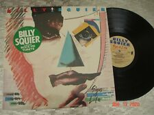 """Billy Squier – """"Signs Of Life"""" Vintage LP  Capitol Records – SJ-12361"""